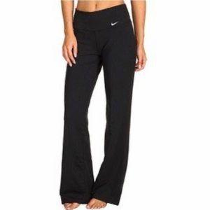 NIKE Women's Dri Fit Yoga Pants Wide-Leg Size XS